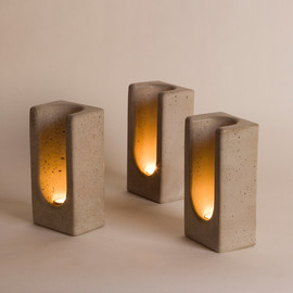 PLYWOOD OFFICE - TEALIGHT TOTEM