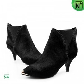 CWMALLS - Womens Pointed Toe Leather Boots CW332305 - M.CWMALLS.COM