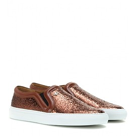 GIVENCHY - Low Skate glitter slip-on sneakers