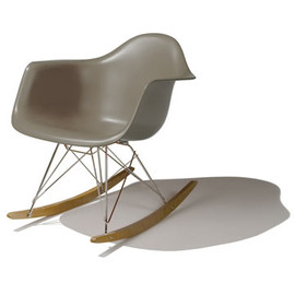 Herman Miller - Eames Molded Plastic RAR Rocker (Sparrow) by Charles & Ray Eames