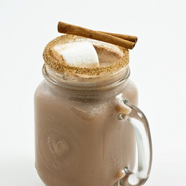 dellcovespices - Hot chocolate with spiced cinnamon rim sugar