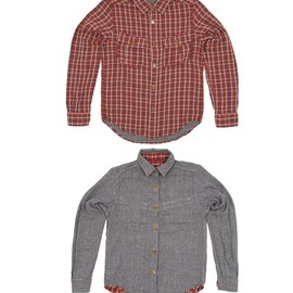 nigel cabourn - reversible shirt NIGEL CABOURN REVERSIBLE SHIRT | CULTIZM SALE + FREE SHIPPING