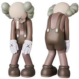 KAWS, MEDICOM TOY - KAWS SMALL LIE BROWN