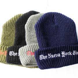 "Props-Store - ""The Nueva York Times"" Watch Cap"
