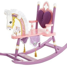 Levels of Discovery - Kiddie-Ups Princess Rocking Horse