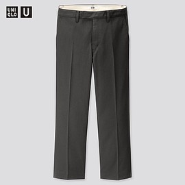 UNIQLO - WOMEN Uniqlo U Straight Ankle Pants