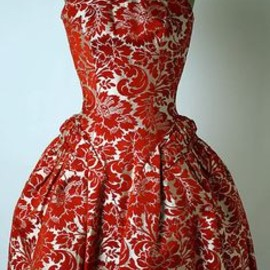 Arnold Scaasi - dress,1959-1960