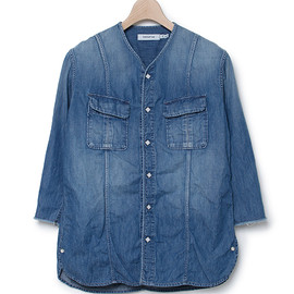 nonnative - ROAMER SHIRT QS - 6 OZ DENIM VW