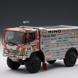 AUTOart - HINO 500 Series Paris to Dakar Rally 2012 1:43 Scale Replica Model Truck
