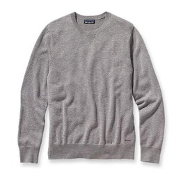 Patagonia - Men's Wool Cask Crew Feather Grey