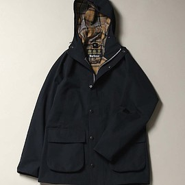 BARBOUR - POLYESTER 2 LAYERS FABRIC HOODED
