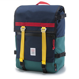 Topo Designs - Topo Designs Flap Pack Navy Weatherproof Commuter