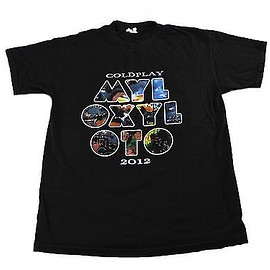 Coldplay - Coldplay MYLO XYLOTO 2012 Concert Tour Band Shirt Mens Size Medium
