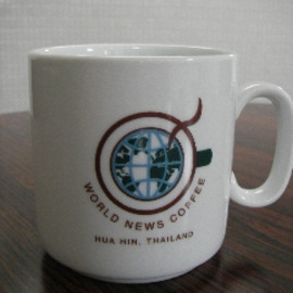 WORLD NEWS COFFEE(Thai Hua Hin) - Mug