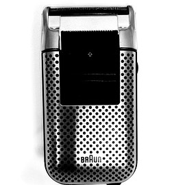 BRAUN - Micron Plus De Luxe Electric Shaver