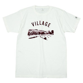 ENDS and MEANS - ENDS and MEANS Village Tee WHITE