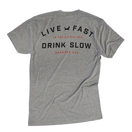 BREWDOG - Live Fast Drink Slow T-Shirt