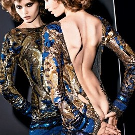 style icon - Abbey Lee Kershaw by Mario Sorrenti