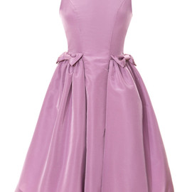 KATIE ERMILIO - Lilac Bow Pocket Party Dress