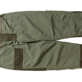 ENGINEERED GARMENTS - Fatigue Pant-Cotton Ripstop-Olive