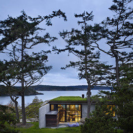 Olson Kundig Architects - The Pierre Residence, San Juan Islands off the coast of Seattle.