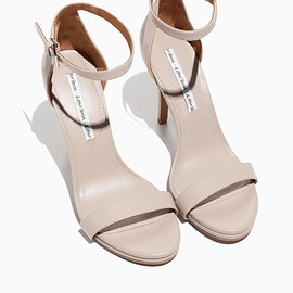 &Other Stories - Two Strap Sandal in Light Beige