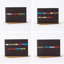 yellow owl workshop - Morse Code Cards