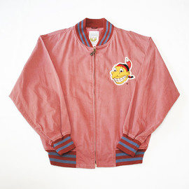 STARTER - COOPERSTOWN COLLECTION  MLB CLEVELAND INDIANS COTTON JACKET