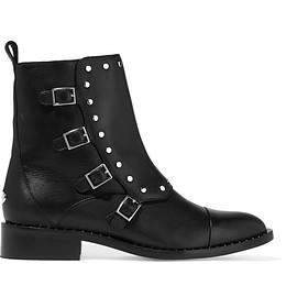 Jimmy Choo - Baxter studded leather ankle boots
