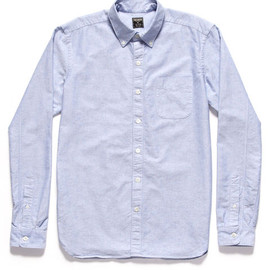 Todd Snyder - Blue Japanese Selvedge Oxford Shirt
