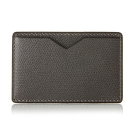 Valextra - Pass card holder (dark gray)