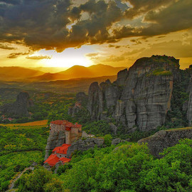 Thessaly, Greece - 'Meteora'