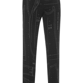 MOSCHINO - Pre-Fall 2015 Patternmaking Trousers