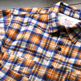 "Anachronorm - Flannel Check Work Shirt ""Regular Fit"" (ANC-155)"