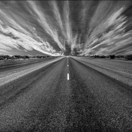 Fine Art America - Endless Road Photograph  - Endless Road Fine Art Print