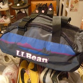 L.L.Bean - 「<used>90's L.L.Bean BOSTON BAG(M) black 4200yen」販売中