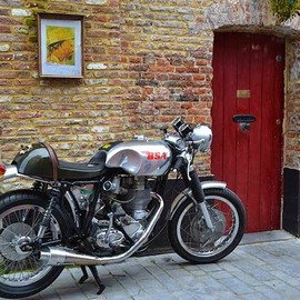BSA - Cafe Racer