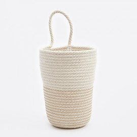 Doug Johnston - Large Pencil Bucket - Beige/White