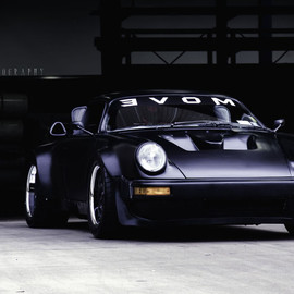 PORSCHE - 911 turbo  by James Maloney