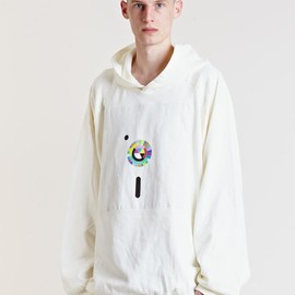 Raf Simons - Archive AW03 Oversized Hooded Jumper by LN-CC