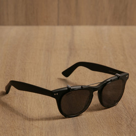 ILLESTEVA - LENOX BLACK SUNGLASSES
