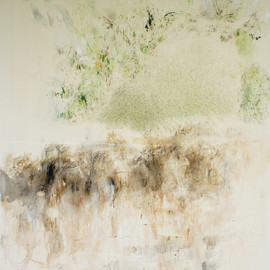 Paula Baader - garden#2 (back to the roots), 2013, acrylic on canvas