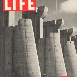 Life Magazine - November 23, 1936 First Issue, Cover photo by Margaret Bourke-White