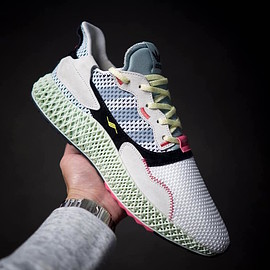 adidas - ZX 4000 4D - Footwear White/Grey/Mint Green?