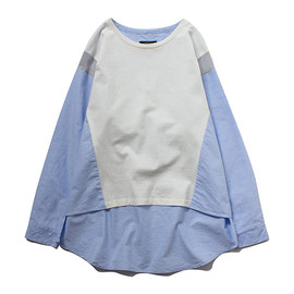 STUSSY WOMEN - Drop Shoulder Tee Top