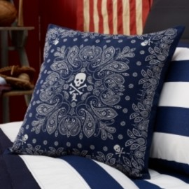 POLO RALPH LAUREN - ローレンホーム University Tate Bandana Pillow【お取り寄せ】