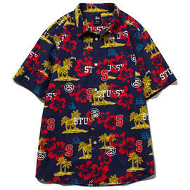 STUSSY - Hawaiian Sport Shirt