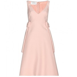 VALENTINO - Wool and silk dress
