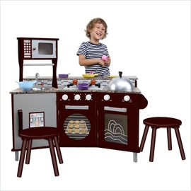 Granite Play Kitchen - My Little Chef Deluxe Faux