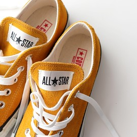 CONVERSE - Converse Suede  ALL STAR J OX GOLD (Made in Japan)